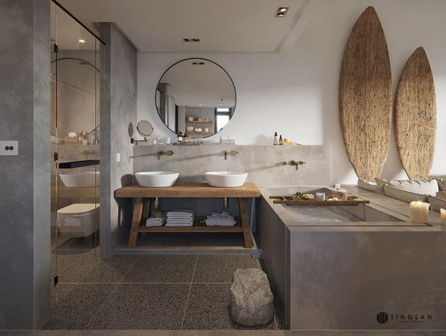 Ý tưởng thiết kế căn hộ studio siêu nhỏ nhưng cực hiện đại dành cho cả gia đình nhỏ xinh - Ảnh 11.