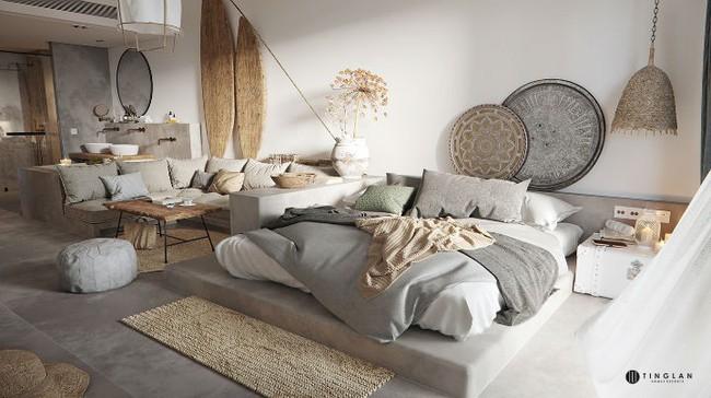 Ý tưởng thiết kế căn hộ studio siêu nhỏ nhưng cực hiện đại dành cho cả gia đình nhỏ xinh - Ảnh 7.