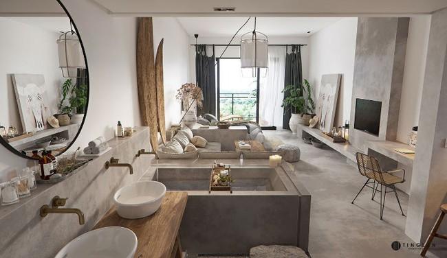 Ý tưởng thiết kế căn hộ studio siêu nhỏ nhưng cực hiện đại dành cho cả gia đình nhỏ xinh - Ảnh 8.