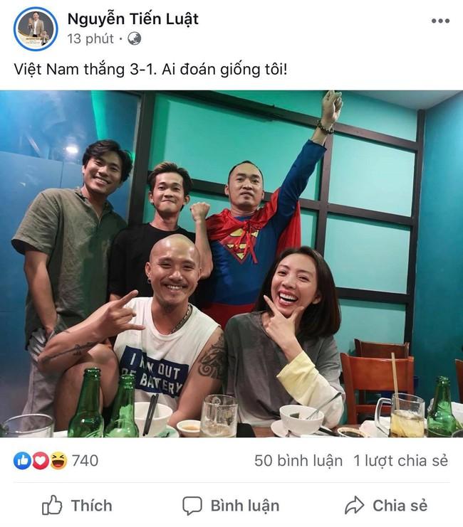 Dàn sao Việt phấn khích trước những bàn thắng liên tiếp của đội tuyển Việt Nam - Ảnh 4.