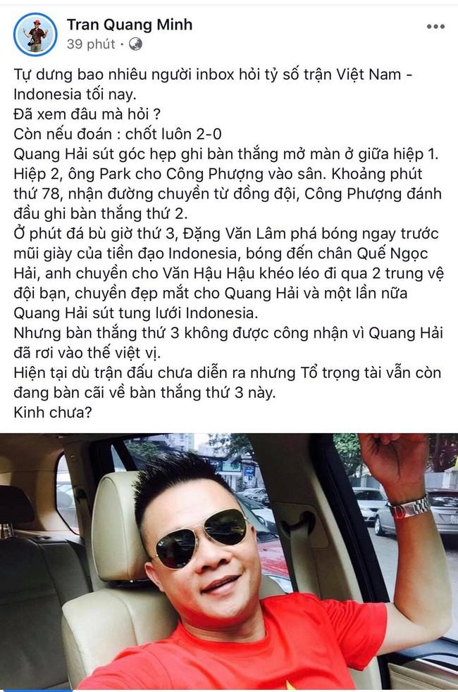 Dàn sao Việt phấn khích trước những bàn thắng liên tiếp của đội tuyển Việt Nam - Ảnh 6.