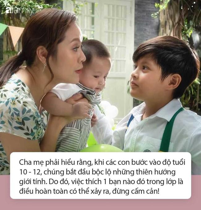 Con trai Thanh Thúy - Đức Thịnh mới lớp 5 đã biết thích bạn khác giới, nữ diễn viên lại nhiệt tình ủng hộ khiến ai nấy sửng sốt - Ảnh 2.