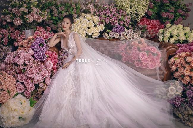 Váy cưới của Đông Nhi - Ảnh 6.