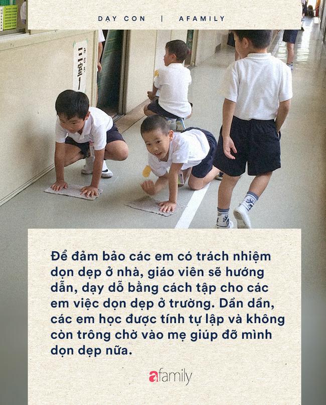 Trẻ em Nhật mới học lớp 1 đã tự làm những việc mà rất nhiều cha mẹ không dám cho con làm - Ảnh 3.