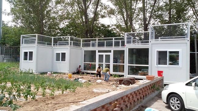 """Người đàn ông 57 tuổi vừa có sự nghiệp vừa tạo lập vườn rau xanh ở """"biệt thự"""" container tặng vợ - Ảnh 3."""