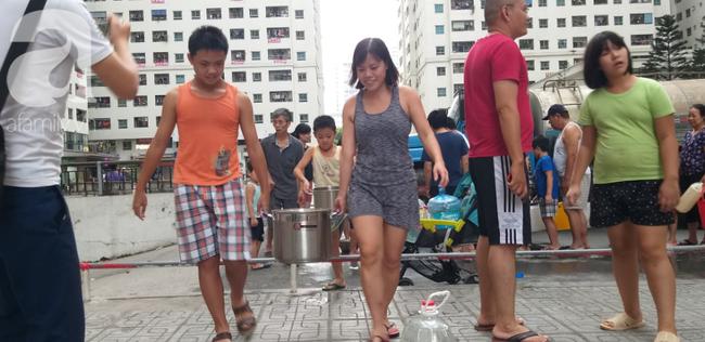 Nguyên nhân nước cấp cho HH Linh Đàm tanh, đục do xe không đảm bảo vệ sinh - Ảnh 2.