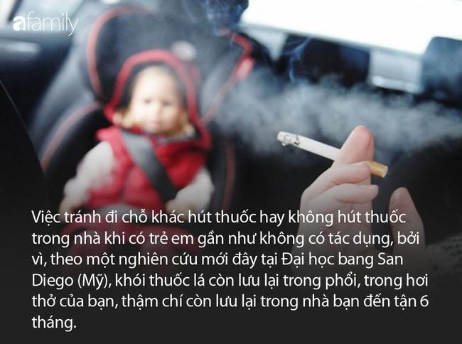 Bố hút thuốc lá rồi chơi với con khiến bé 14 tháng tuổi bị ngộ độc không khí, 1 ngày nôn ra máu 7 lần - Ảnh 6.