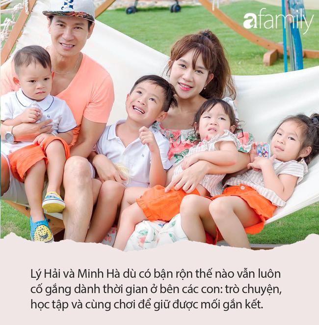Mới tí tuổi nhưng nhóc tì nhà Lý Hải - Minh Hà đã học 4 thứ tiếng và bất ngờ nhất là ngoại ngữ nào cũng nói vanh vách - Ảnh 1.