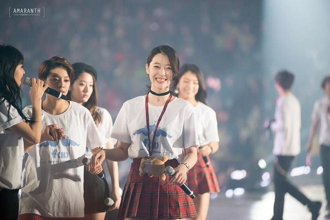 SM Entertainment gửi tâm thư xúc động trong giây phút Sulli mãi mãi ra đi: Chúng tôi sẽ không bao giờ quên dáng hình xinh đẹp và nụ cười ấm áp ấy - Ảnh 2.