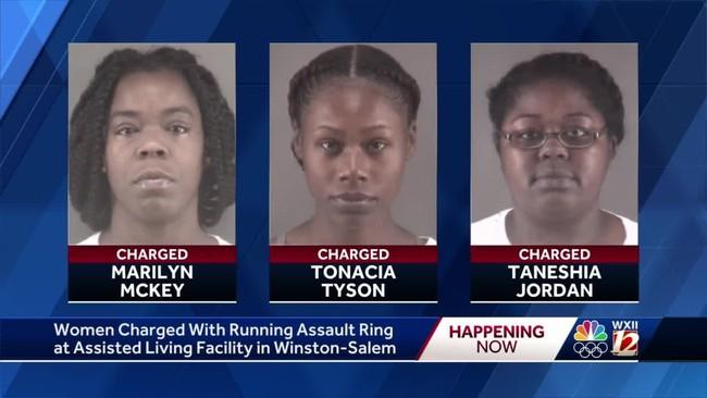 3 nhân viên trại dưỡng lão bị bắt vì tổ chức đánh lộn ăn tiền cho các cụ già mất trí nhớ - Ảnh 1.