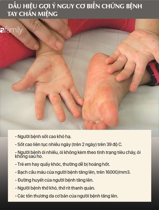Biến chứng của bệnh tay chân miệng có thể gây tử vong, cha mẹ đừng bỏ qua những dấu hiệu cảnh báo nguy cơ biến chứng như này - Ảnh 5.
