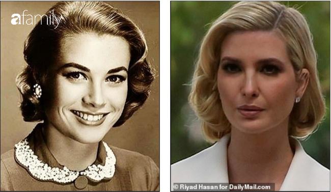 """Ivanka Trump được báo Anh ví von giống công nương Grace Kelly vì kiểu tóc nhưng lại bị dân tình chê là """"bản sao lỗi"""" - Ảnh 3."""