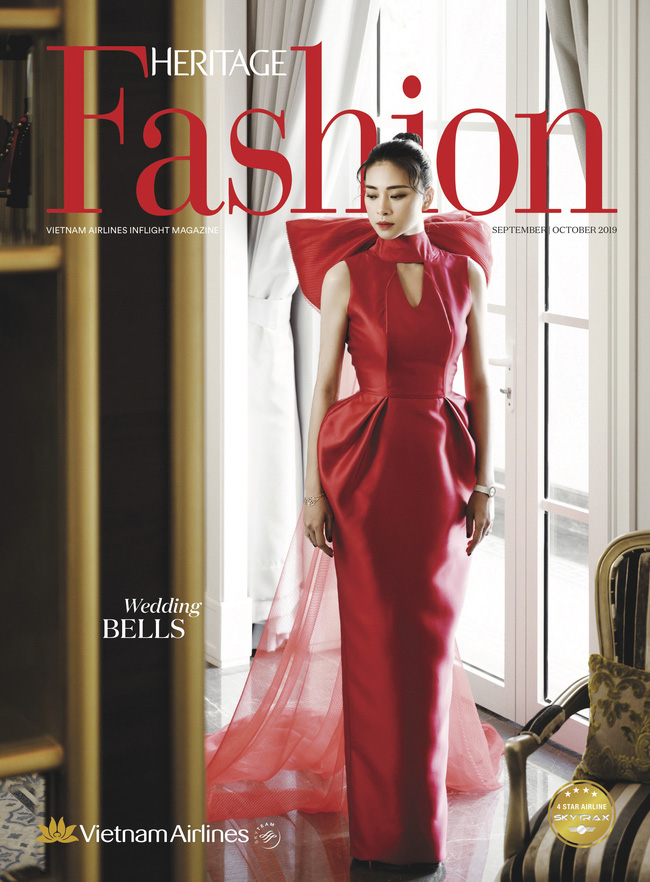 Váy cưới PHUONG MY được Harper's Bazaar Mỹ khen ngợi bên cạnh Vera Wang và Valention - Ảnh 3.