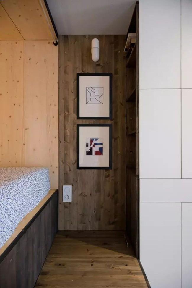 Mẹo sắp xếp đồ đạc tăng lưu trữ giúp không gian căn hộ 35m2 tiện nghi, thoáng rộng của vợ chồng trẻ - Ảnh 8.