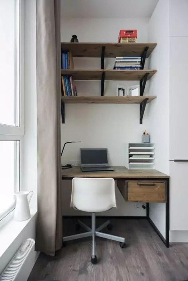 Mẹo sắp xếp đồ đạc tăng lưu trữ giúp không gian căn hộ 35m2 tiện nghi, thoáng rộng của vợ chồng trẻ - Ảnh 12.