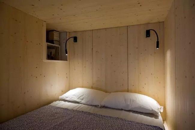 Mẹo sắp xếp đồ đạc tăng lưu trữ giúp không gian căn hộ 35m2 tiện nghi, thoáng rộng của vợ chồng trẻ - Ảnh 4.