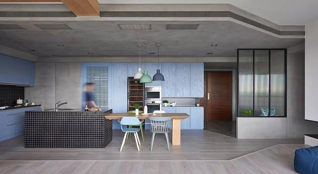 Bí mật trong căn hộ màu xanh khiến tất cả các gia đình trẻ đều hài lòng khi ngắm nhìn - Ảnh 11.