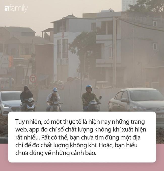 Ô nhiễm không khí: Nên tham khảo chỉ số chất lượng không khí ở đâu và lời khuyến cáo của chuyên gia! - Ảnh 1.