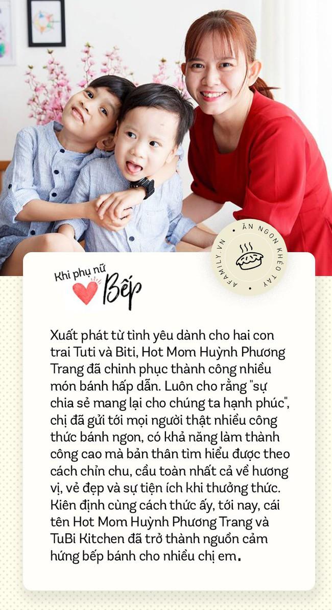 """Hot Mom Huỳnh Phương Trang với những công thức bánh """"làm là ngon"""": Làm bánh và chia sẻ công thức cho chị em là một phần không thể thiếu trong cuộc sống - Ảnh 1."""