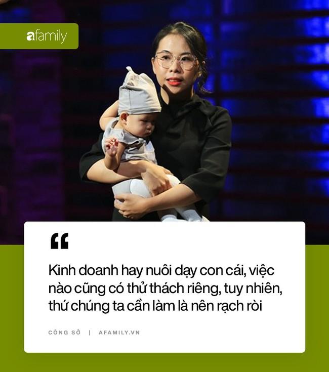 Mẹ bỉm mang con đến Shark Tank gọi vốn: Từ cô sinh viên phát tờ rơi đến bà chủ công ty có doanh thu 10,5 tỷ đồng - Ảnh 10.