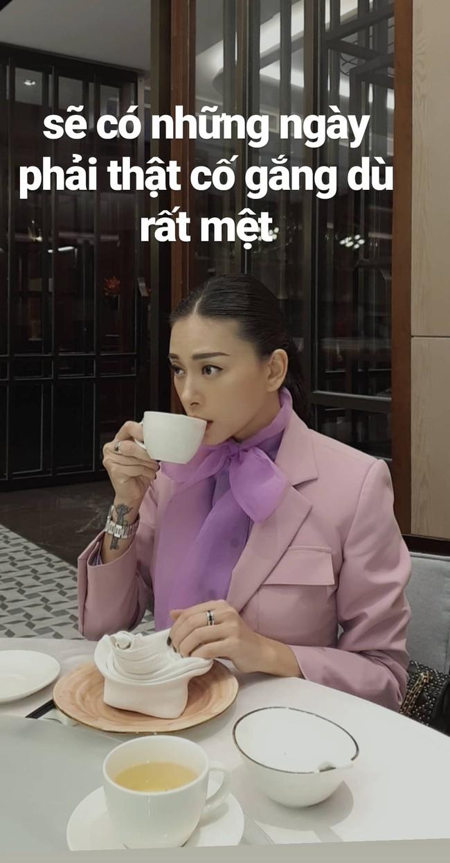 """Ngô Thanh Vân bỗng """"sến súa"""" với đồ tím hot trend, khác hẳn style cá tính như gái đôi mươi mọi khi - Ảnh 2."""