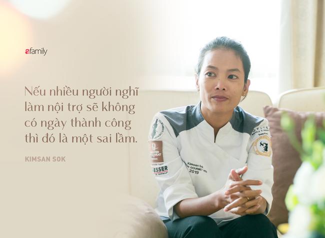 Kimsan Sok: Người phụ nữ thay đổi số phận nội trợ, chuyên đi nấu đám cưới, đám tang giống mẹ để trở thành đầu bếp đẳng cấp thế giới - Ảnh 4.