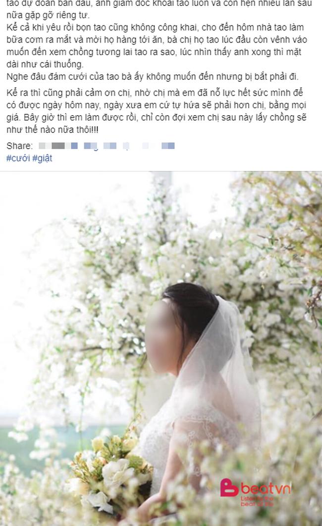 """Ngày lấy chồng, cô dâu khiến chị họ """"chết điếng"""" vì thân thế của chú rể và """"thâm cung bí sử"""" câu chuyện năm xưa mới là đòn choáng váng - Ảnh 1."""