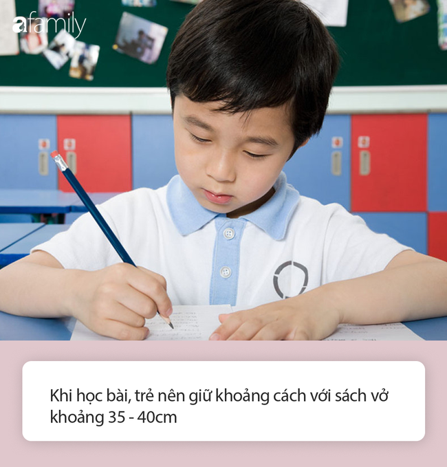 Cha mẹ không cần hò hét nhắc các con giữ khoảng cách khi ngồi học nữa, vì có 1 dụng cụ chống cận thị đơn giản thế này - Ảnh 5.
