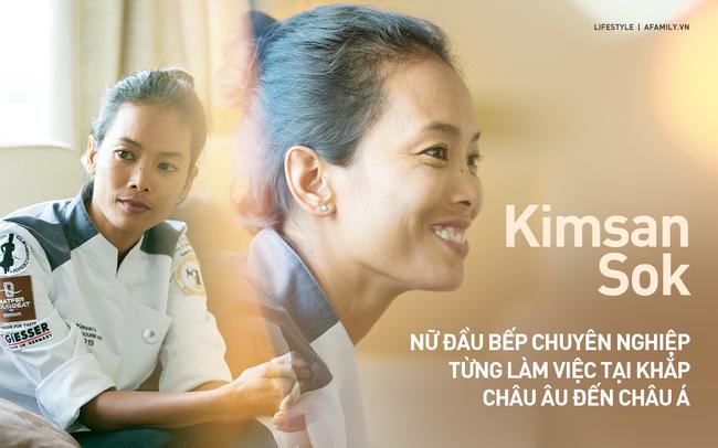 Kimsan Sok: Người phụ nữ thay đổi số phận nội trợ, chuyên đi nấu đám cưới, đám tang giống mẹ để trở thành đầu bếp đẳng cấp thế giới - Ảnh 1.
