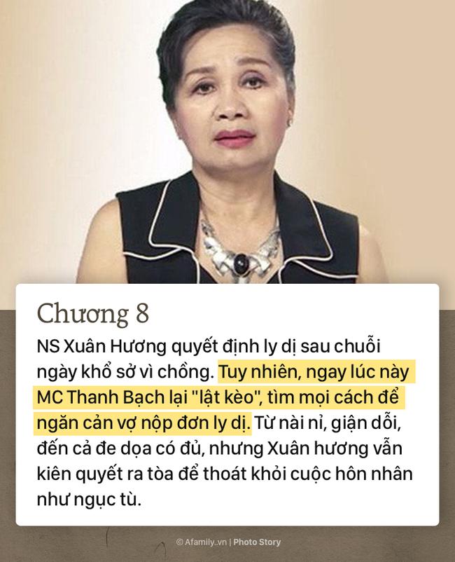 """""""Thâm cung bí sử"""" hơn 20 năm vợ chồng của MC Thanh Bạch - NS Xuân Hương qua 10 chương đầy gay cấn và """"drama"""" giật mình - Ảnh 9."""