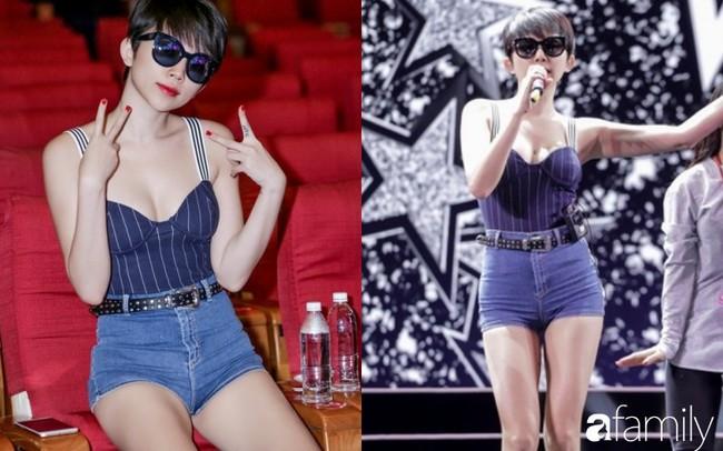 Sao Việt đi tổng duyệt: Người ưa mặc đồ rộng, người tận dụng mặc áo ngắn kheo eo triệt để  - Ảnh 3.
