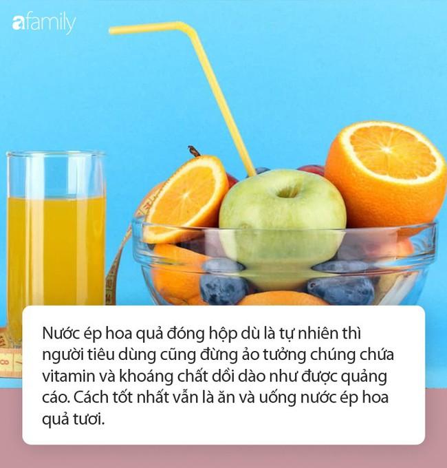 Sự thật về nước ép hoa quả đóng chai được chuyên gia tiết lộ gây sốc - Ảnh 1.