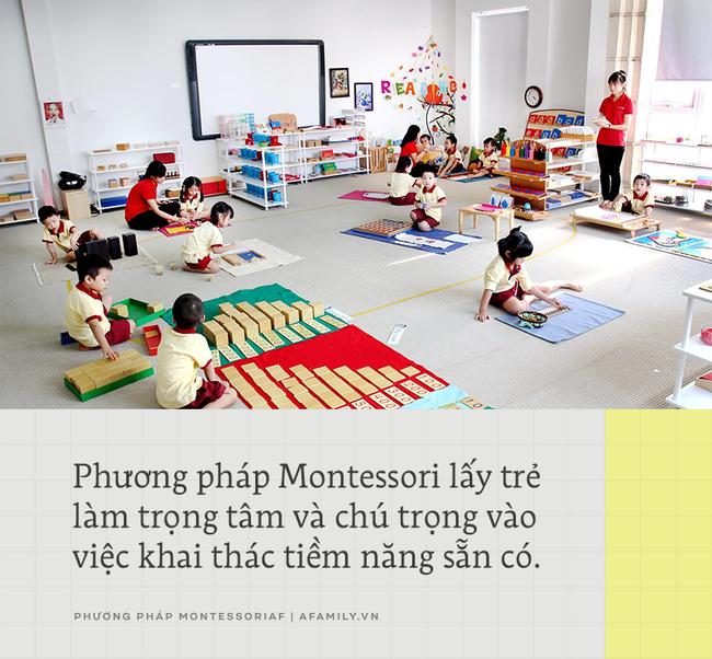 Montessori: Phương pháp giáo dục trẻ toàn diện mà bất kỳ ông bố mẹ nào cũng cần tìm hiểu - Ảnh 2.