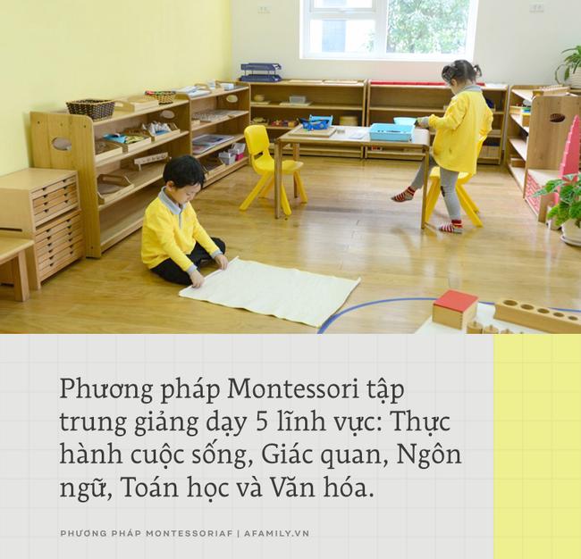 Montessori: Phương pháp giáo dục trẻ toàn diện mà bất kỳ ông bố mẹ nào cũng cần tìm hiểu - Ảnh 4.