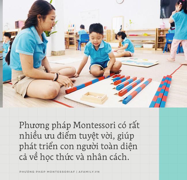 Montessori: Phương pháp giáo dục trẻ toàn diện mà bất kỳ ông bố mẹ nào cũng cần tìm hiểu - Ảnh 6.