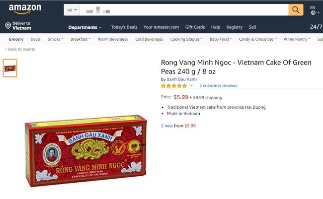 Điểm danh những sản phẩm Việt bạn không thể ngờ tới lại đang được bán trên trang thương mại điện tử lớn nhất thế giới Amazon - Ảnh 2.