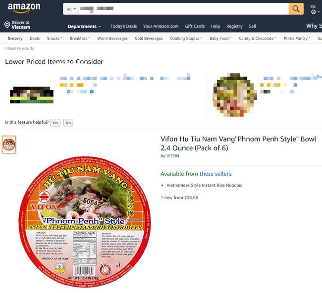 Điểm danh những sản phẩm Việt bạn không thể ngờ tới lại đang được bán trên trang thương mại điện tử lớn nhất thế giới Amazon - Ảnh 3.