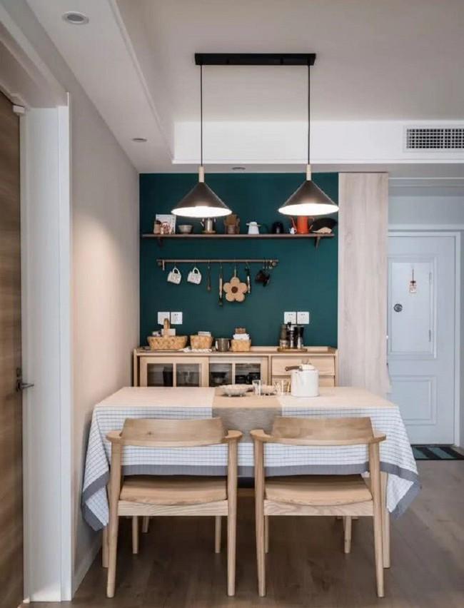 Những cách bài trí bàn ăn với đồ nội thất vô cùng nổi bật cho không gian bếp của nhà chung cư bạn nên tham khảo  - Ảnh 2.