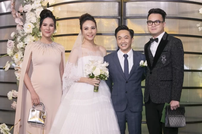 Quy định trang phục trong lễ cưới của sao Việt: Nghiêm ngặt chỉ để tránh những tình huống phát sinh - Ảnh 5.