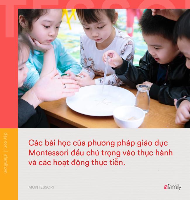 10 điểm khác biệt giữa phương pháp Montessori và giáo dục truyền thống: Montessori giúp trẻ phát triển toàn diện hơn hẳn! - Ảnh 3.
