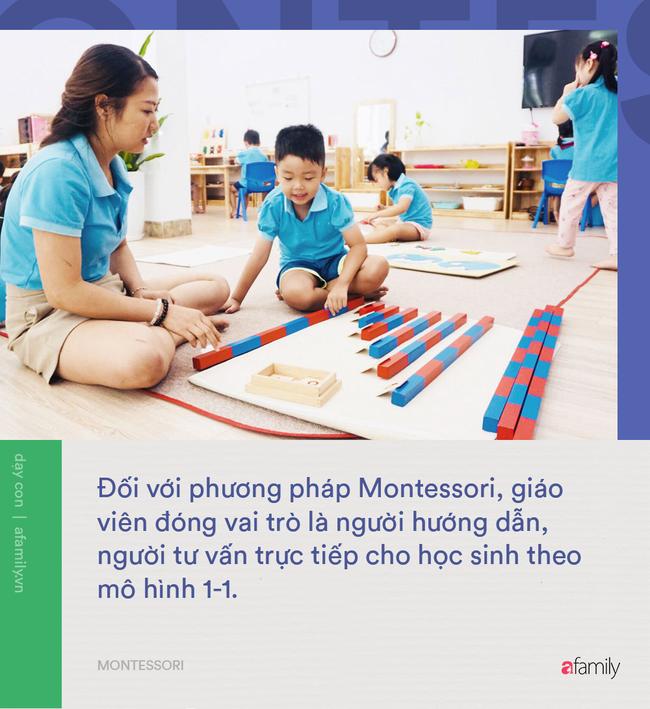 10 điểm khác biệt giữa phương pháp Montessori và giáo dục truyền thống: Montessori giúp trẻ phát triển toàn diện hơn hẳn! - Ảnh 4.