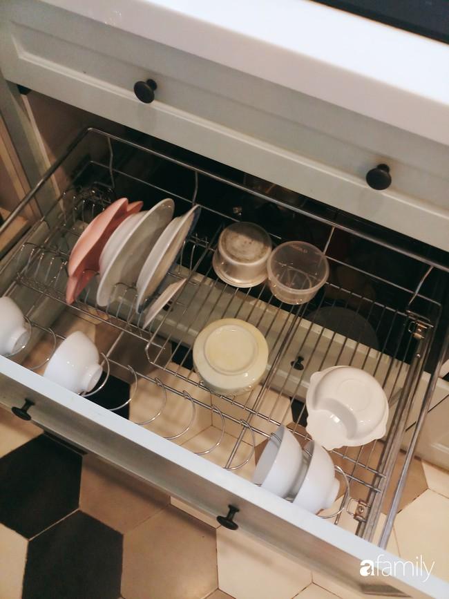 Căn bếp Vintage chưa đầy 10m2 với góc nào cũng xinh xắn, gọn gàng của bà mẹ trẻ ở Sài Gòn - Ảnh 11.
