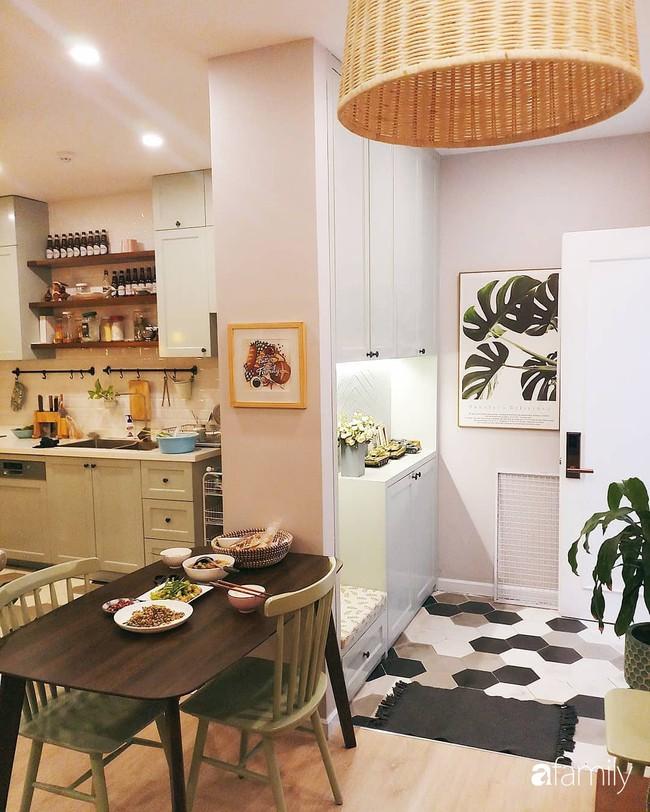 Căn bếp Vintage chưa đầy 10m2 với góc nào cũng xinh xắn, gọn gàng của bà mẹ trẻ ở Sài Gòn - Ảnh 3.
