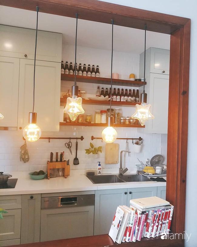 Căn bếp Vintage chưa đầy 10m2 với góc nào cũng xinh xắn, gọn gàng của bà mẹ trẻ ở Sài Gòn - Ảnh 12.