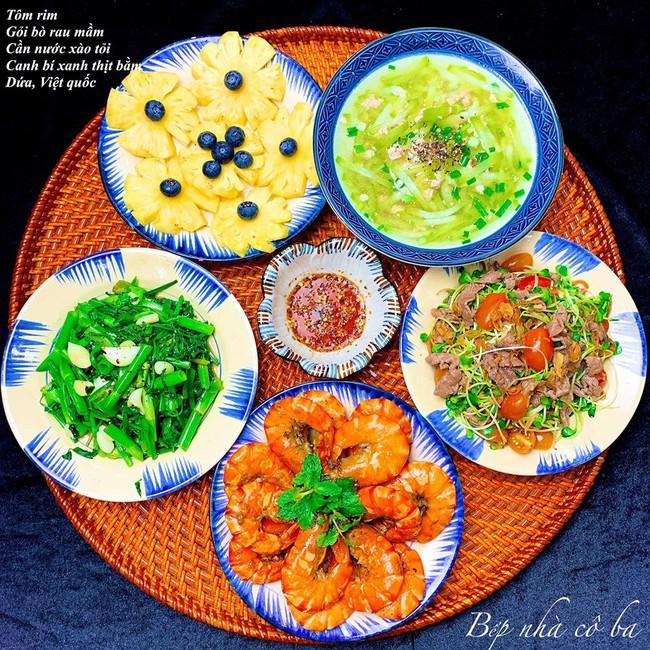 """Khỏi lo hôm nay ăn gì với thực đơn tuần cực """"hao cơm"""" của cô Ba miền Tây xinh đẹp đảm đang - Ảnh 3."""