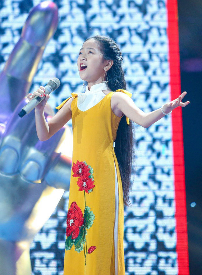 Thiên thần nhí Minh Tâm sẵn sàng bức phá trong đêm Chung kết The Voice Kids 2019 - Ảnh 1.