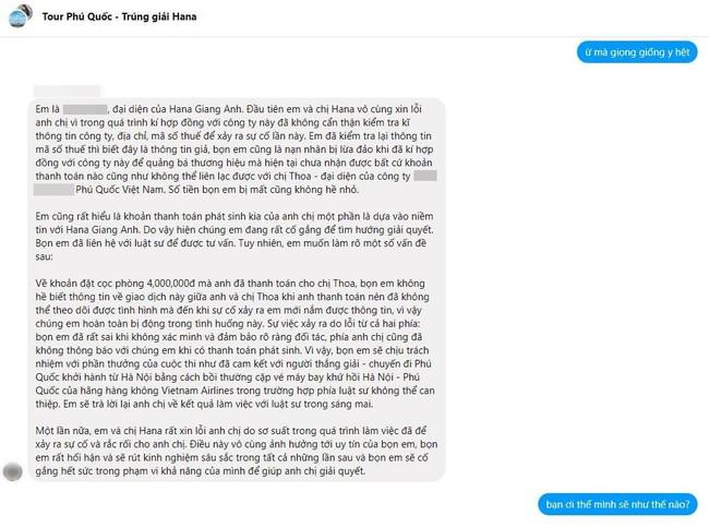 """Nữ HLV nổi tiếng Hana Giang Anh bị tố """"đồng lõa"""" với công ty du lịch ma để quảng cáo, lừa đảo hơn 50 triệu của khách hàng - Ảnh 9."""