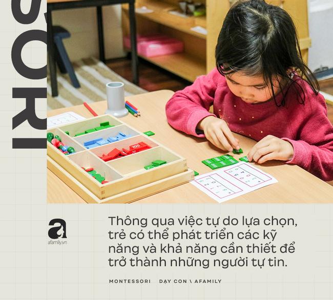 Những nguyên tắc thiết yếu của phương pháp giáo dục Montessori: Trẻ luôn được chú trọng hàng đầu - Ảnh 2.