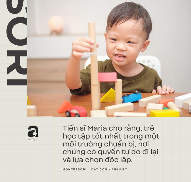 Những nguyên tắc thiết yếu của phương pháp giáo dục Montessori: Trẻ luôn được chú trọng hàng đầu - Ảnh 6.