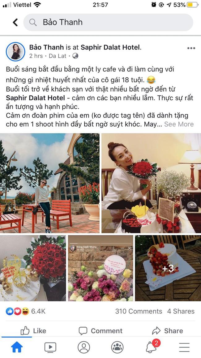 """Đón sinh nhật tuổi 29, Bảo Thanh của """"Về Nhà Đi Con"""" nhận được lời chúc đầy xúc động từ """"em út"""" Bảo Hân - Ảnh 1."""